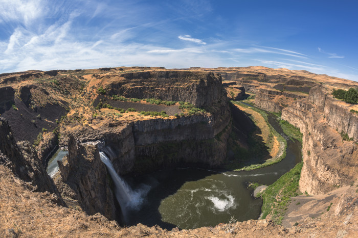 2. Speaking of waterfalls...Palouse Falls will also take your breath away.