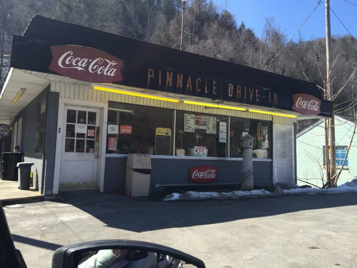 4. Pinnacle Drive-in restaurant  in Pineville
