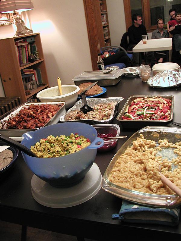 Pitch-In Dinner/Scramble Dinner