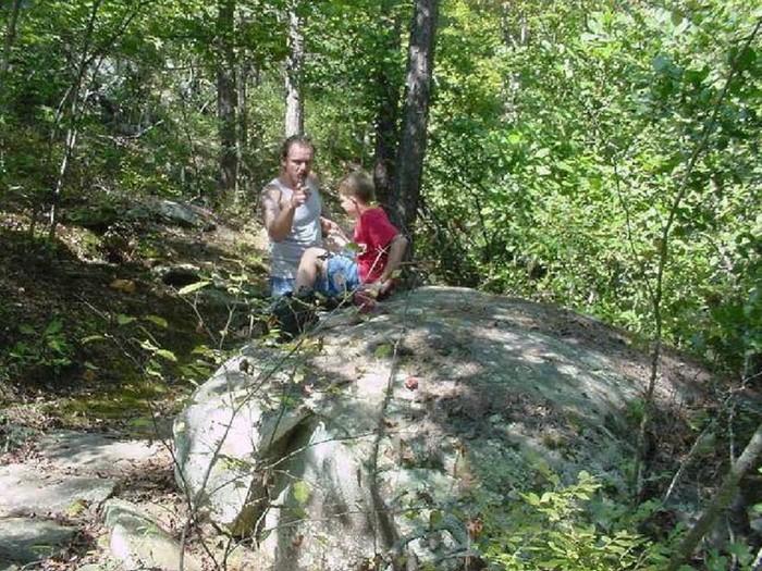 7. Take a hike on the Cedar Falls Trail at Petit Jean State Park.