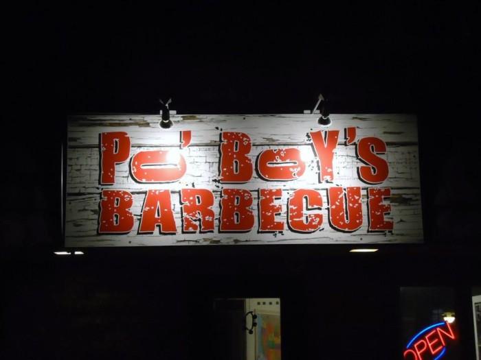 16. Po' Boy's Barbecue, Gretna