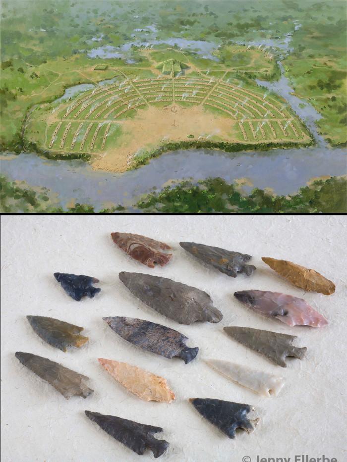 1) Poverty Point World Heritage Site 1700 B. C. – 1100 B. C.