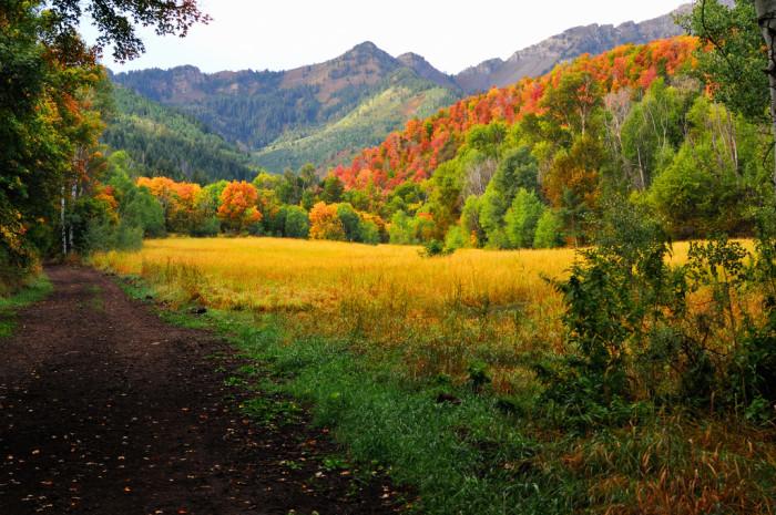 1) Provo Canyon