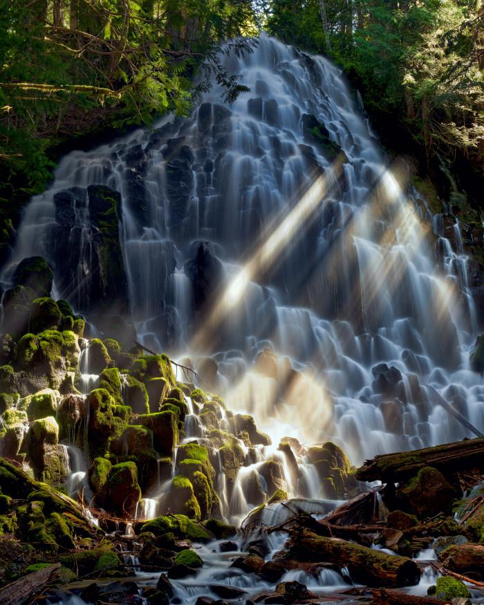 4) Ethereal Ramona Falls