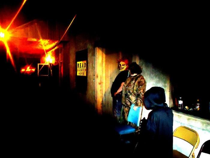 6. R.E.A.D. Haunted House