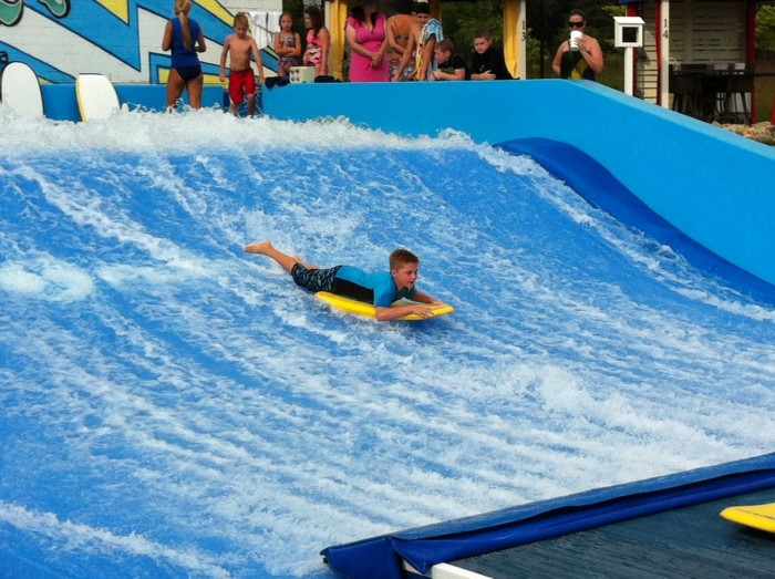 8. Monon Waterpark (1235 Central Park Drive East, Carmel)