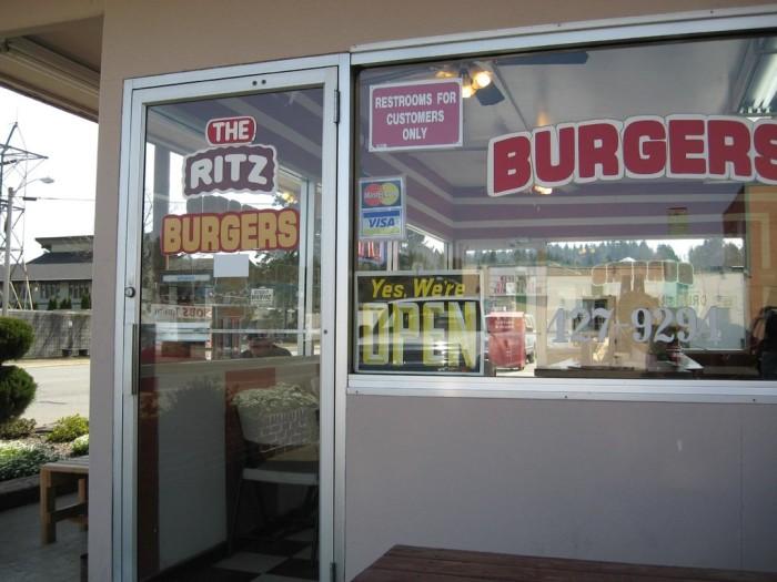 11. The Ritz Burgers, Shelton