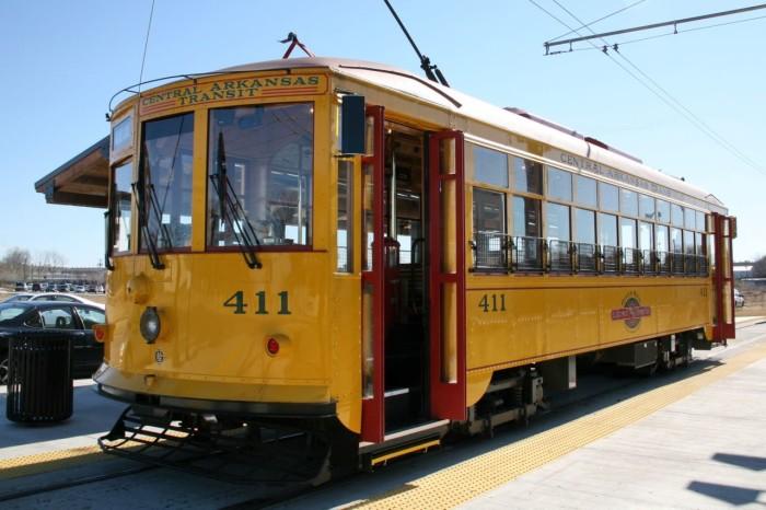 9. River Rail Streetcar