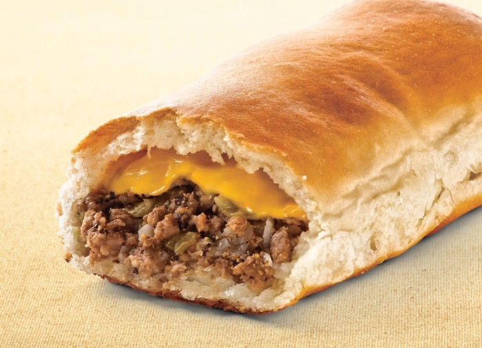 8. Ground beef, cabbage, and fresh bread.