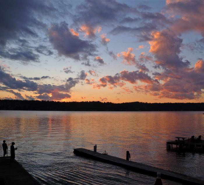 Places to go fishing in washington for Lake sammamish fishing
