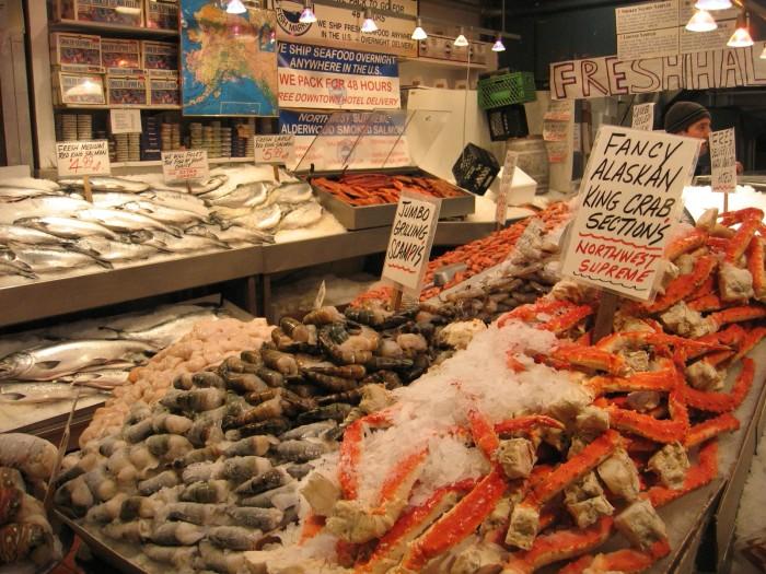 4. ...and seafood!