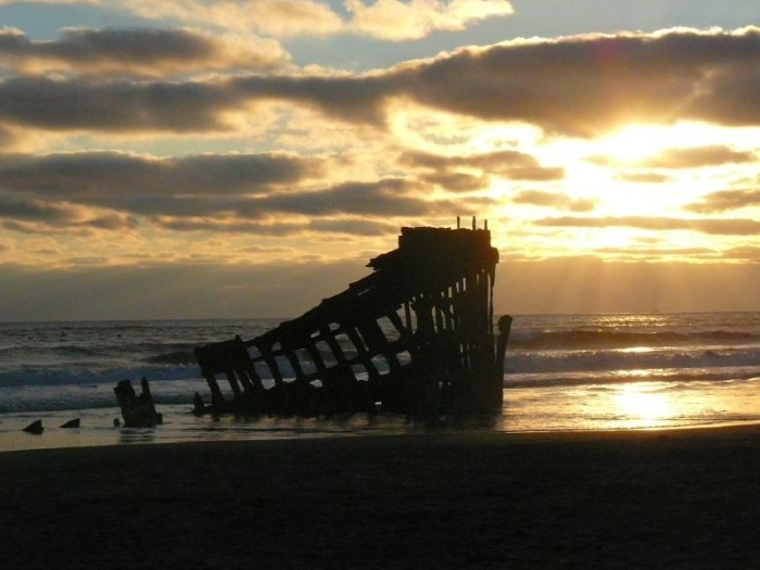 3) Peter Iredale