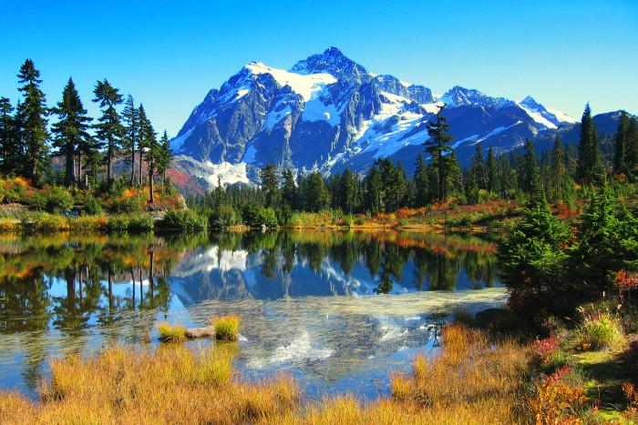 10. Picture Lake, Mount Shuksan