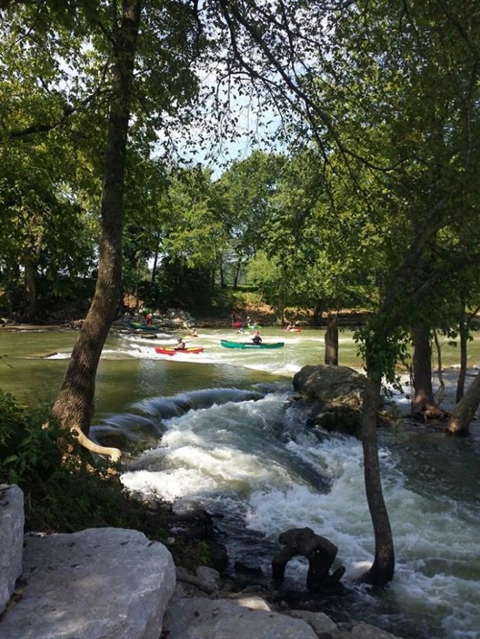 2. Siloam Springs