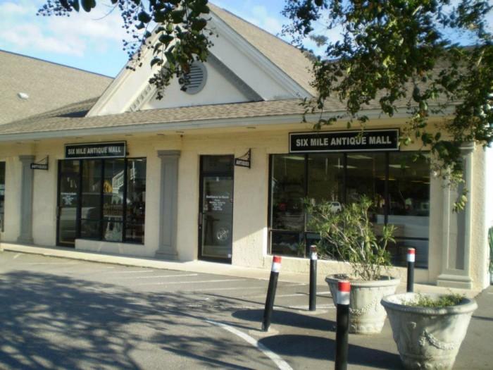 11. Six Mile Antique Mall, 761 Coleman Blvd, Mt Pleasant, SC 29464