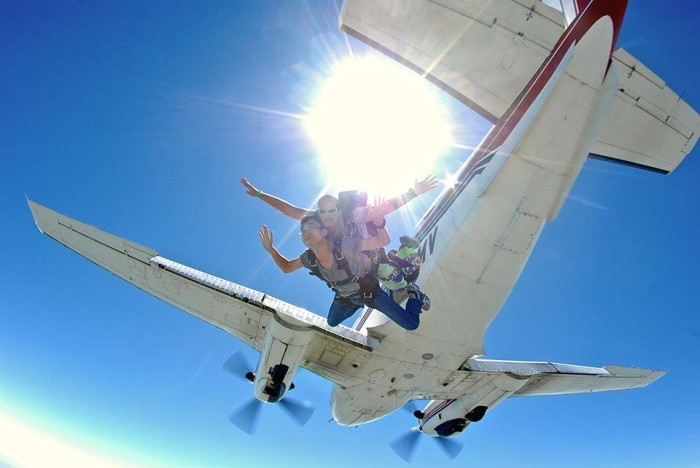 10. Learn How To Skydive