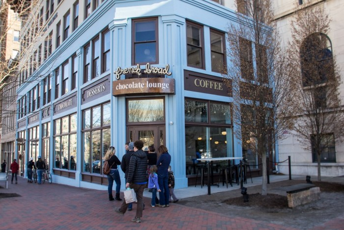 1. French Broad Chocolates, Asheville