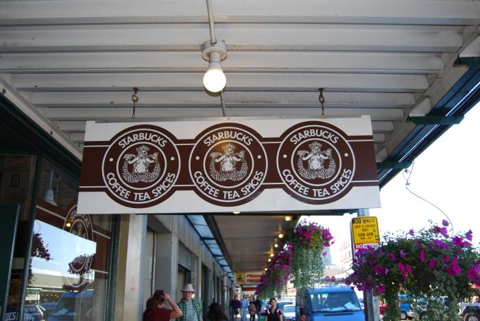 9. The oldest Starbucks