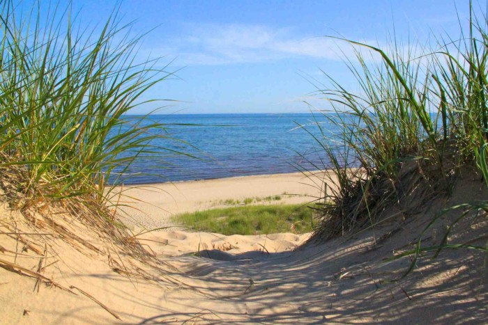 2. Relax on the Beach at the Indiana Dunes.