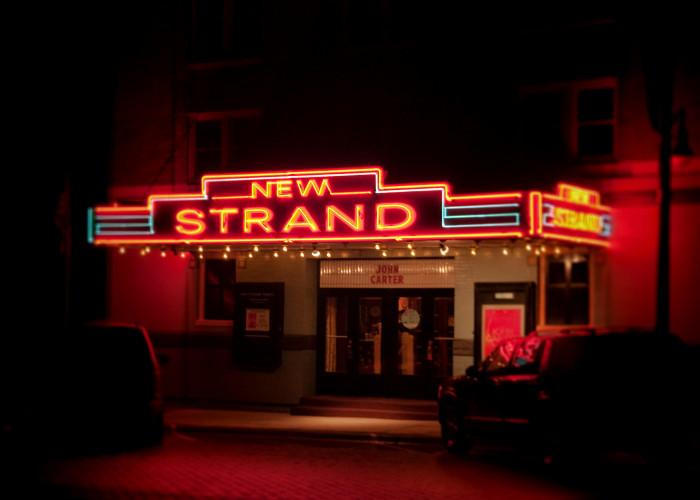 10. New Strand Theatre, West Liberty