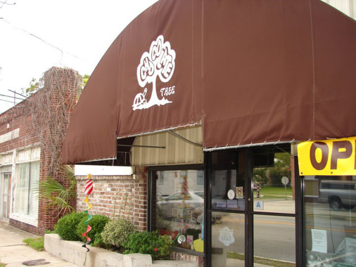 1. The Chocolate Tree,  507 Carteret St, Beaufort