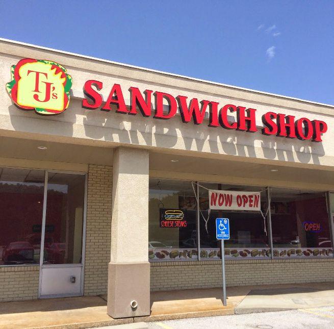 3. TJ's Sandwich Shop