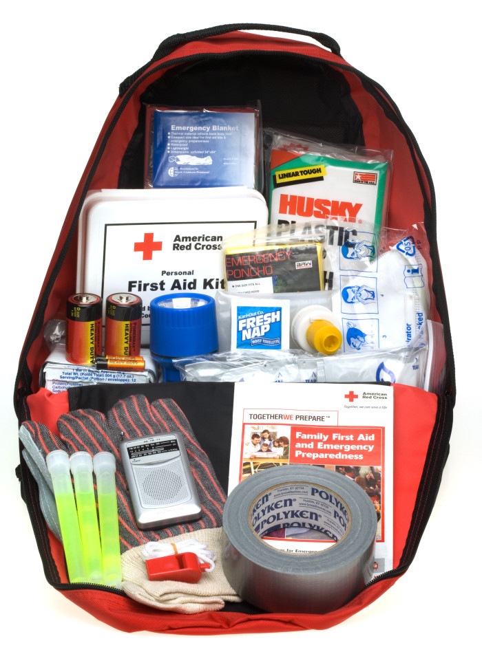 6. A tornado kit.