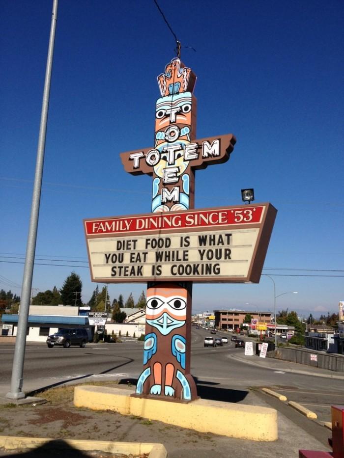 1. Totem Family Dining in Everett