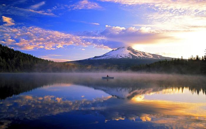 2) Trillium Lake