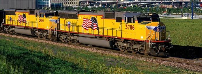 1. Union Pacific Railroad