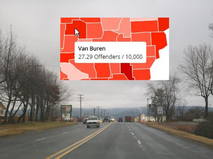 13. Van Buren County