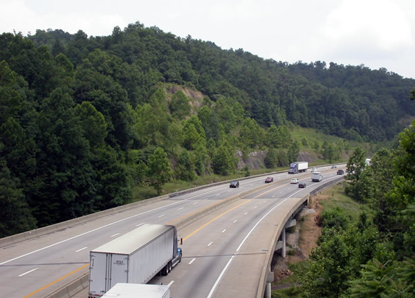 2. The West Virginia Turnpike