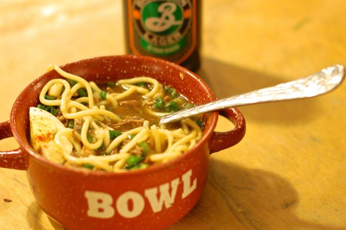 11) Ramen Noodles & Tony's
