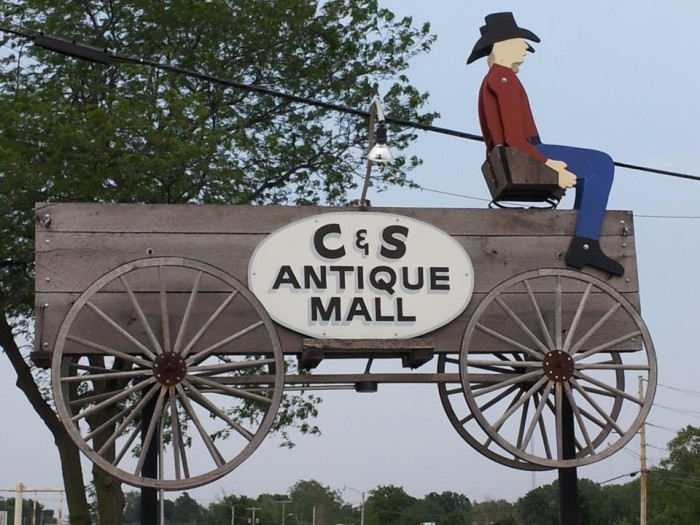 8. C and S Antique Mall (Geneseo)