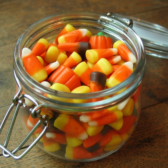 6. Candy corn has started appearing...at work, in stores, etc.