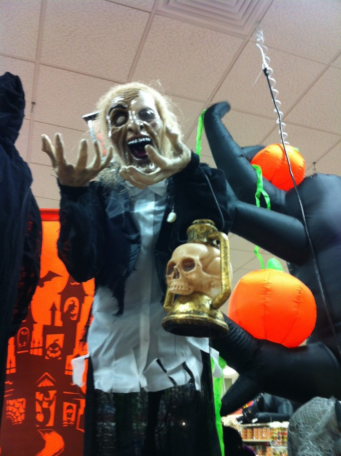 9. Some stores even already have the Halloween displays up