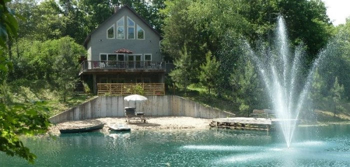 Cabin By The Pond (Carbondale)