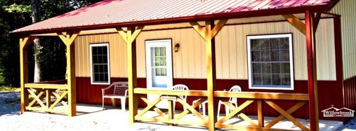 7. Willowbrook Cabins (Golconda)