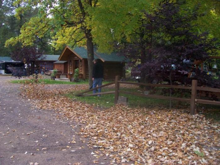 1. Log Cabin Resort (Trego)
