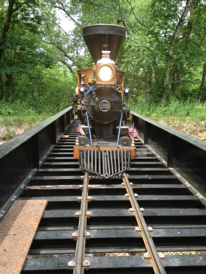 2. Riverside and Great Northern Railway (Wisconsin Dells)
