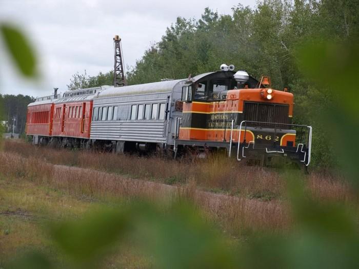 7. Spooner Train Ride (Trego)