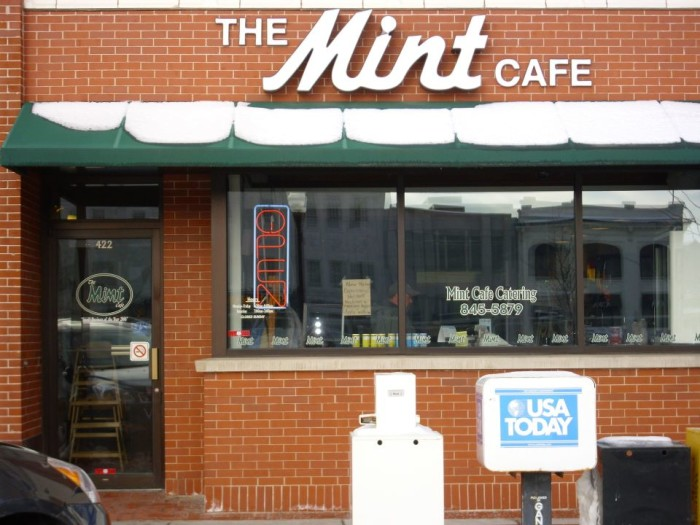 10. The Mint Cafe (Wausau)