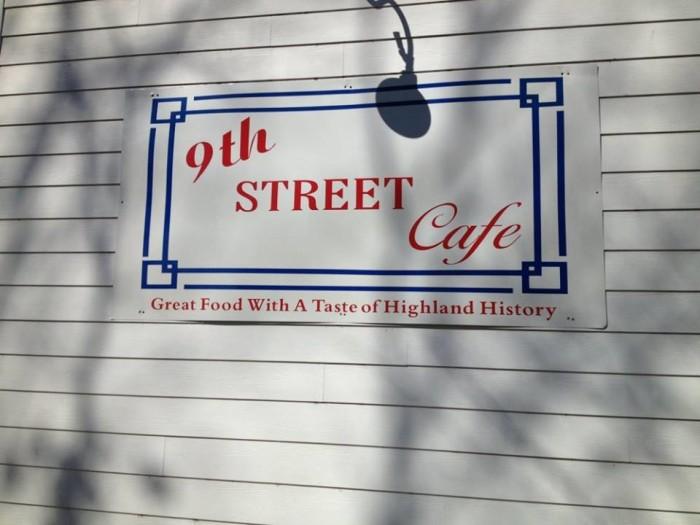 2. 9th Street Cafe (Highland)