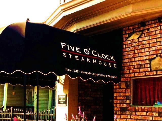 1. Five O'Clock Steakhouse (Milwaukee)