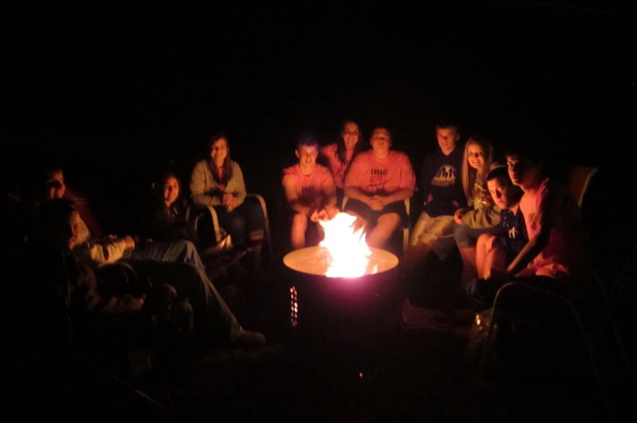 8. Attend or host a bonfire