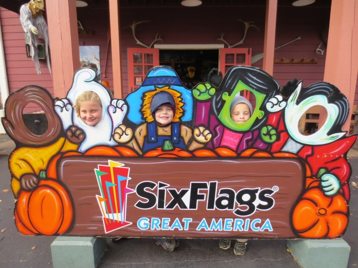 4. Attend Six Flags during Halloween