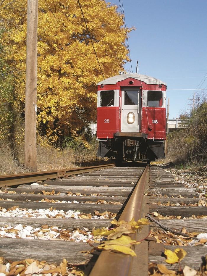8. East Troy Electric Railroad (East Troy)