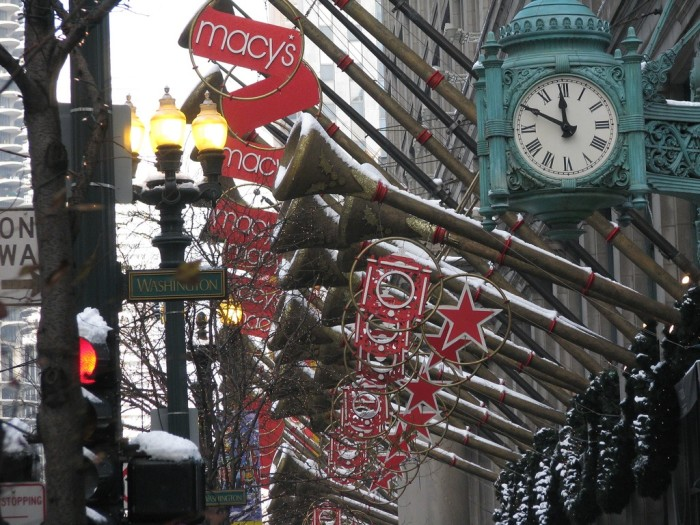 3. Visited Chicago during the holiday season