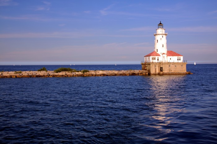 8. Navy Pier Lighthouse
