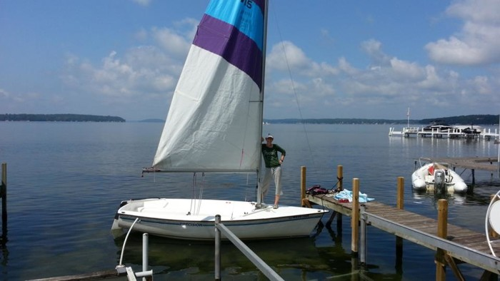 8. Learn to sail